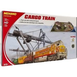 Железная дорога Mehano Cargo Train с ландшафтом (T113) железные дороги mehano загородный дом