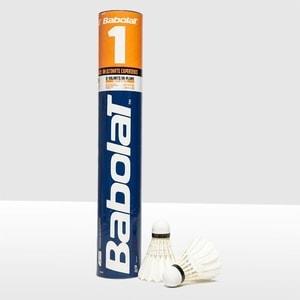 Воланы для бадминтона Babolat 1 (перо/пробка) 551023 средняя скорость воланы для бадминтона adidas d training 79 перо быстрая скорость