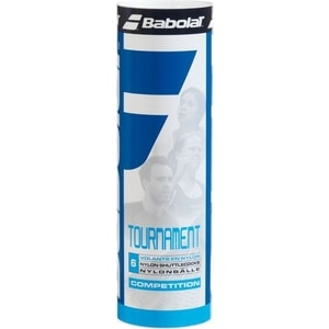 Воланы для бадминтона Babolat Tournament 6 (562004 средняя скорость 6 шт) tournament bristle dartboard
