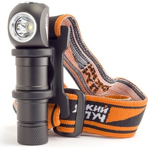 Фонарь Яркий луч LH-140 ENOT налобный - ручной CREE XP-G2 140 лм nitecore cb6 cree xp g2 r5 white 440lm led flashlight powerful 3000mw blue light to identify the blood trail flashlight