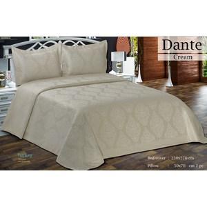 Покрывало Do and Co Dante кремовый гобелен 250х270+2 наволочки 50x70 (9512кремовый)
