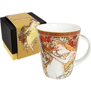Кружка Carmani Весна А. Муха (CAR2-539-5201) кружки carmani кружка за чашкой кофе 350мл carmani