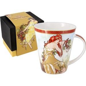 Кружка Carmani Лето А. Муха (CAR2-539-5202) кружки carmani кружка за чашкой кофе 350мл carmani