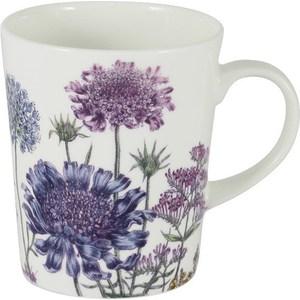 Кружка Anna Lafarg Stechcol Лаура сиреневые цветы (AL-17821-F-M-ST) цены онлайн