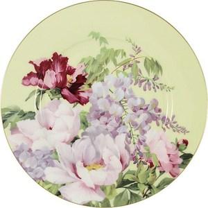 Тарелка десертная Anna Lafarg Stechcol Райский сад жёлтая (AL-17815F-YEL-P-ST) пазл hatber райский сад 340x460mm 500пз2 16969