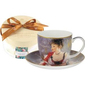 Чашка с блюдцем Carmani За чашкой кофе (CAR2-045-0228)