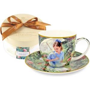 Чашка с блюдцем Carmani Летний день (CAR2-045-0209-AL) чашка с блюдцем terracotta дерево жизни tly314s2 tl al