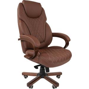Офисное кресло Chairman СН 406 PU бежевое офисное кресло chairman 403 кожа pu черное