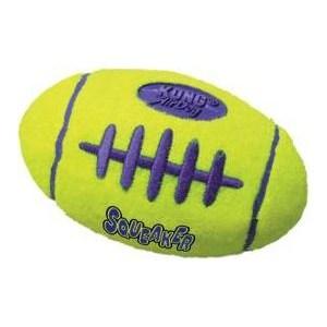 Игрушка KONG Air Squeaker Football Large Регби большая 19см для собак kong kong игрушка для собак air регби средняя 14 см