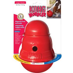 Игрушка KONG European Wobbler Small интерактивная для собак средних пород джей ви j w игрушка для лакомства большая пирамидки на канате для собак 1 шт