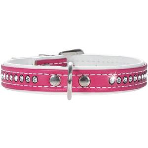 Ошейник Hunter Smart Dog Collar Modern Art Luxus 32/11 nickel (24-28,5 см) кожзам 1 ряд страз ярко-розовый для собак футболка классическая printio gta 5 dog
