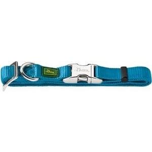 Ошейник Hunter Collar Vario Basic ALU-Strong M/20 (40-55см) нейлон с металлической застежкой бирюзовый для собак