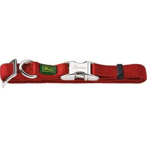 Ошейник Hunter Collar Vario Basic ALU-Strong M/20 (40-55см) нейлон с металлической застежкой бордовый для собак
