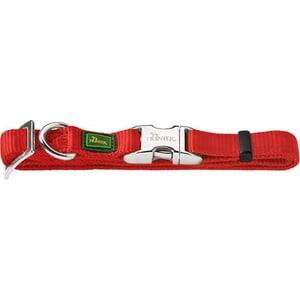 Ошейник Hunter Collar Vario Basic ALU-Strong M/20 (40-55см) нейлон с металлической застежкой красный для собак