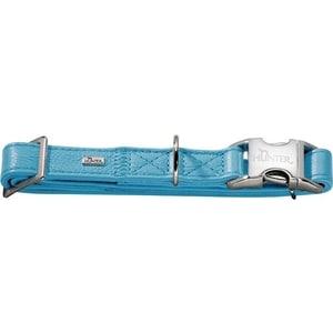 Ошейник Hunter Collar Capri Alu-Strong L (45-65см) натуральная кожа бирюзовый для собак цена и фото