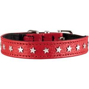 Ошейник Hunter Collar Capri Mini Stars 30 (23-27см) натуральная кожа красный для собак hunter ошейник для собак hunter ecco s нейлон лиловый 30 45см