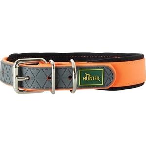 Ошейник Hunter Convenience Comfort 45 neonorange (32-40см) биотановый мягкая горловина оранжевый неон для собак люстра 32 45