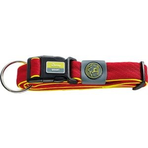 Ошейник Hunter Collar Maui Vario Plus L (42-65cм) сетчатый текстиль красный для собак