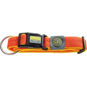 Ошейник Hunter Collar Maui Vario Plus L (42-65cм) сетчатый текстиль оранжевый для собак ошейник hunter collar maui vario plus s 32 45cм сетчатый текстиль красный для собак