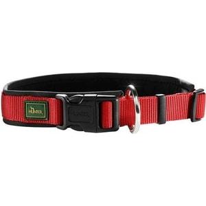 Ошейник Hunter Collar Neopren Vario Plus (50-55см) нейлон/неопрен красный/черный для собак ошейник hunter collar maui vario plus s 32 45cм сетчатый текстиль красный для собак