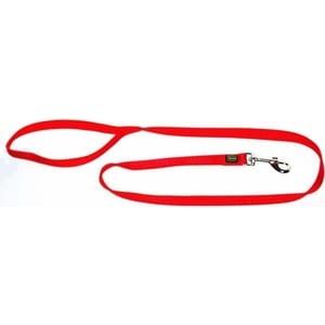 Поводок Hunter Leash 25/100 нейлон красный для собак