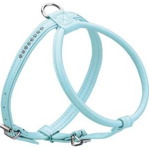 Шлейка Hunter Smart Harness Modern Art R & S Petit Luxus size 40/11 (27/32-38 см) кожзам синяя для собак шлейка regatta refl dog harness для собак цвет черный обхват груди 40 45 см размер s