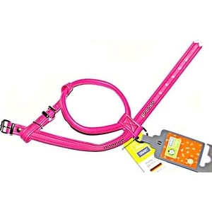 Шлейка Hunter Smart Harness Modern Art R & S Petit Luxus size 45/11 (30/37-43 см) кожзам розовая для собак шлейка regatta refl dog harness для собак цвет черный обхват груди 40 45 см размер s