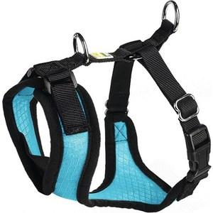 Шлейка Hunter Harness Manoa S (38-47см) нейлон/сетчатый текстиль голубая для собак шлейка regatta refl dog harness для собак цвет черный обхват груди 40 45 см размер s