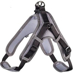 Шлейка Hunter Harness Neopren Vario Quick XL (79-100см) нейлон/неопрен черная/серая для собак набор пильных полотен bosch t301chm