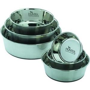 Миска Hunter Feeding Bowl из нержавеющей стали для собак 2,7л диаметр 24см от ТЕХПОРТ