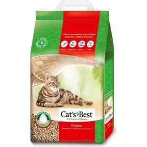 Наполнитель Cat's Best Original древесный комкующийся для кошек 4,3кг (10л)