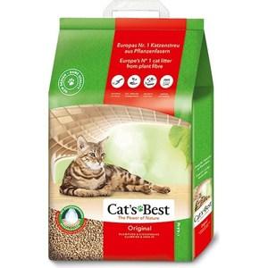 Наполнитель Cat's Best Original древесный комкующийся для кошек 8,6кг (20л)
