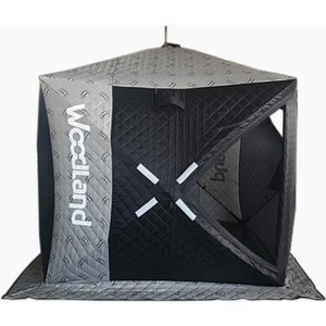 Фотография товара зимняя палатка Woodland куб Ultra, трехслойная (790269)