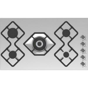 Газовая варочная панель RICCI RGN-KA5041IX газовая варочная поверхность ricci rgn 630bg