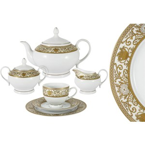 Чайный сервиз 23 предмета на 6 персон Bavaria Баден (B-17005/23) чайный сервиз 42 предмета на 12 персон bavaria гамбург b xw243 42