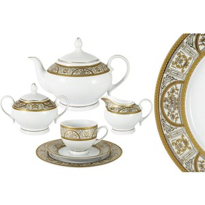 Чайный сервиз 23 предмета на 6 персон Bavaria Кёльн (B-XW213Y/23) обеденный сервиз 50 предметов на 12 персон bavaria бремен b 17532 50
