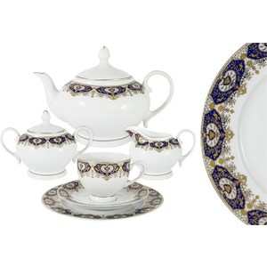 Чайный сервиз 23 предмета на 6 персон Bavaria Гамбург (B-XW243/23) обеденный сервиз 50 предметов на 12 персон bavaria бремен b 17532 50