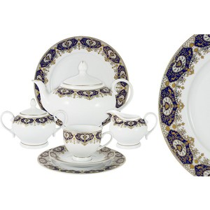 Чайный сервиз 42 предмета на 12 персон Bavaria Гамбург (B-XW243/42) обеденный сервиз 50 предметов на 12 персон bavaria бремен b 17532 50