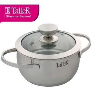 Кастрюля 2.5 л Taller Хантли (TR-1016) чайник со свистком 2 8 л taller эллингтон tr 1380