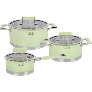 Набор посуды 6 предметов Taller Минт (TR-7170) набор посуды taller tr 1040