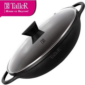 Сковорода wok d 32 см с крышкой Taller (TR-4190) сковорода taller tr 4153