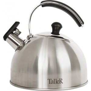 Чайник со свистком 2.5 л Taller Эдвин (TR-1352) чайник заварочный taller tr 1348 1 2 л