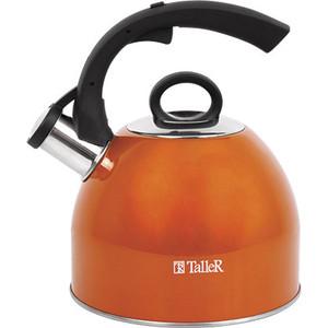 Чайник со свистком 2.0 л Taller Флечер (TR-1383) чайник со свистком 2 5 л taller фолкнер tr 1382