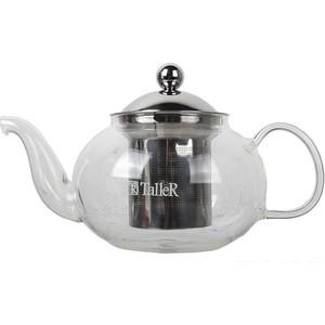 Чайник заварочный 0.8 л Taller (TR-1347) чайник со свистком 2 8 л taller эллингтон tr 1380
