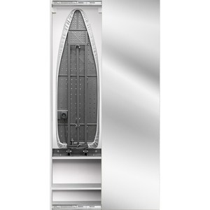 Встроенная гладильная доска Shelf.On Iron Box (Айрон Бокс) купе беленый дуб право