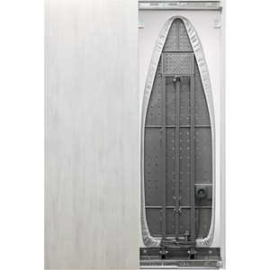 Встроенная гладильная доска Shelf.On Iron Slim Eco (Айрон Слим Эко) купе беленый дуб лево