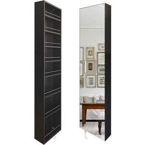 Поворотный зеркальный шкаф Shelf.On Драйв Шелф венге лево поворотный зеркальный шкаф shelf on зум шелф венге