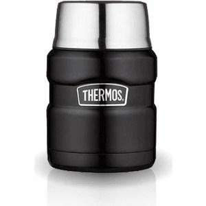 Термос для еды 0.47 л Thermos King SK3000 черный (918109) цена и фото