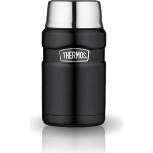 Термос для еды 0.7 л Thermos King SK3020 черный (918093) цена и фото