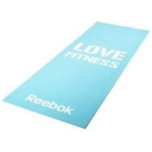 Тренировочный коврик Reebok RAMT-11024BLL (мат) для фитнеса тонкий Love (голубой) for alcatel one touch idol 3 6045 ot6045 lcd display digitizer touch screen assembly free shipping 10pcs lots free dhl